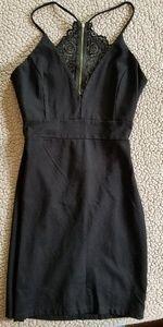 EUC Windsor black midi dress